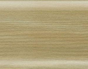 Плинтус ПВХ Salag (Салаг) NGF 56 Ясень Пастель 2,5м 56мм NGF079